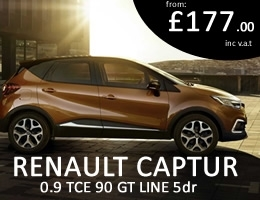 Renault Captur - Special Offer